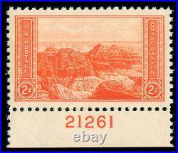 Momen Us Stamps #741 Mint Og Nh Pse Graded Cert Sup-98