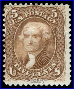 Momen Us Stamps #76 Mint Og H