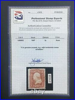 Momen Us Stamps #85c Mint Og H Pse Cert Rare Lot #71137