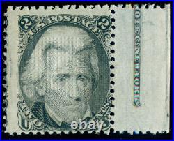 Momen Us Stamps #87 Mint Og Lh Imprint