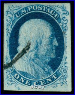Momen Us Stamps #8 Used Pse Graded Cert Xf-90 Lot #71582