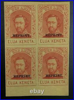 Momen Us Stamps Hawaii #51s Block Mint Og 2lh/2nh Lot #72442
