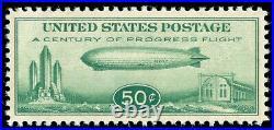 Momen Us Stamps #c18 Mint Og Nh Pse Graded Cert Sup-98