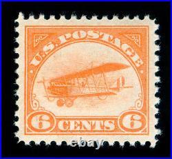 Momen Us Stamps #c1 Mint Og Nh Pse Graded Cert Sup-98