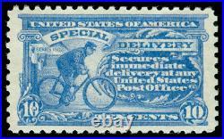 Momen Us Stamps #e10 Mint Og Vlh Xf