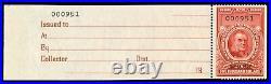 Momen Us Stamps #r686 Revenue Unused Lot #71611