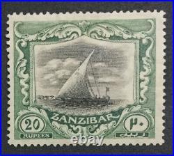 Momen Zanzibar Stamps Sg #296 1921-9 Mint Og H Lot #208652-2917